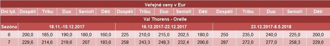 SKI 3U VT a Orelle
