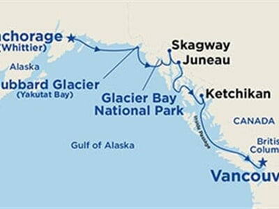 Island, Golden, Coral, Star Princess - Voyage of the Glaciers (Southbound)