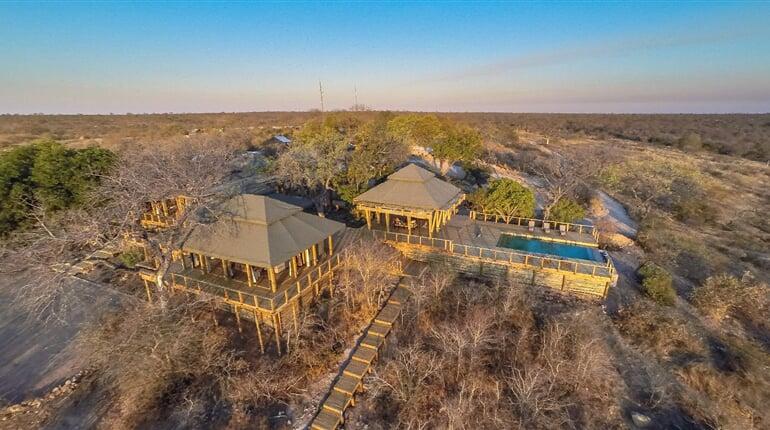 Foto - Mosambik - Safari a pobyt u oceánu, Simbavati Hilltop Lodge ****, Timbavati Game Reserve, Machangulo Beach Lodge ****, Mosambik-Machangulo Peninsula