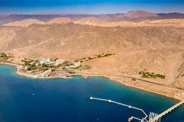 Pohled na Eilat v jižním Izraeli pro web