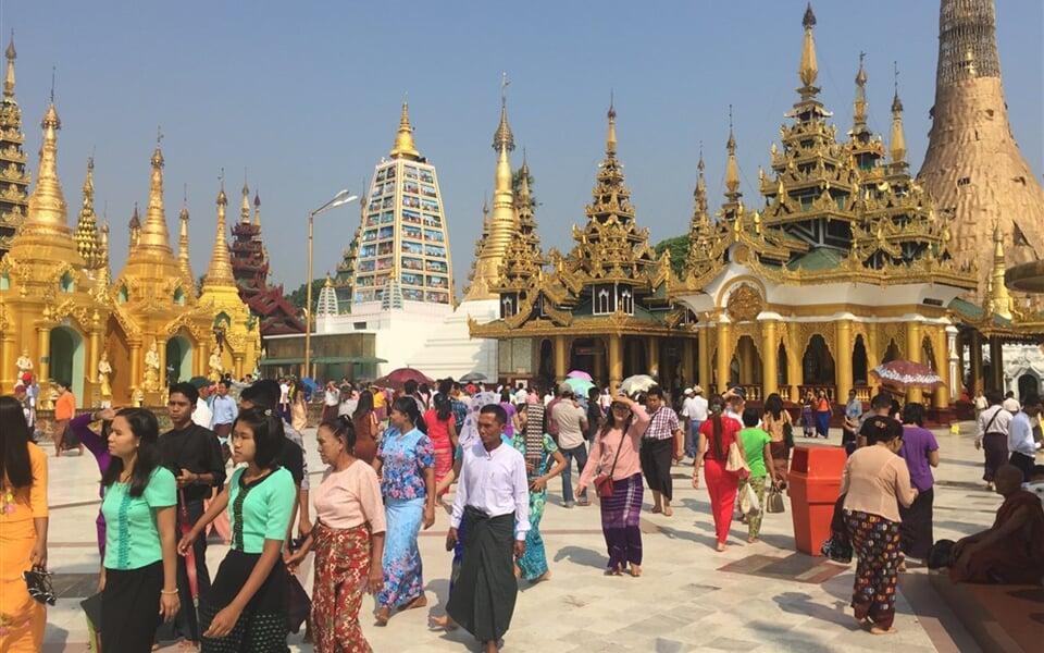 Yangon - pagoda Shwedagon