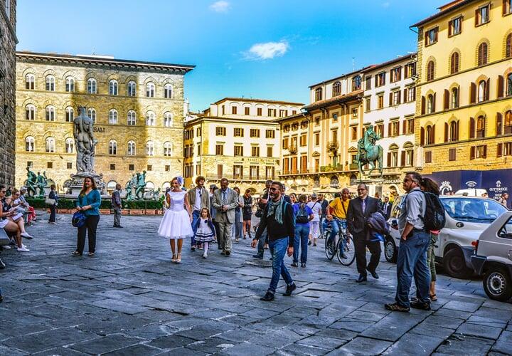 Krásy podzimní Florencie