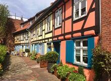 Romantické zámky Dánska a Německa, hanzovní města Baltického moře, ostrov Rujána