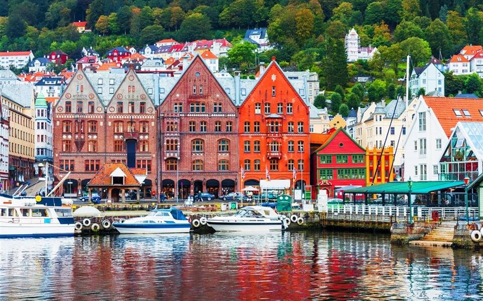 Norsko - Bergen