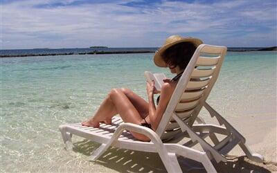 Relaxace a odpočinek na pláži