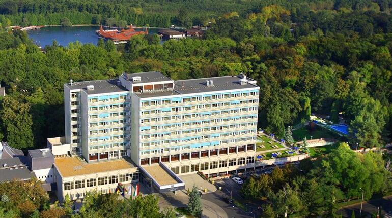 DHSR Hévíz hotel