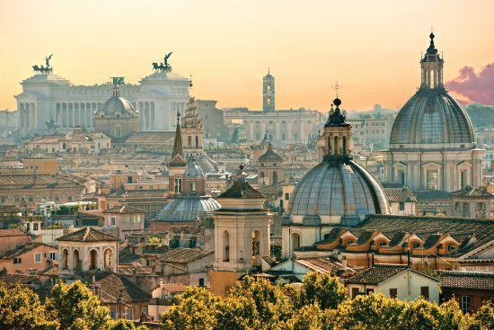 Itálie-Řím