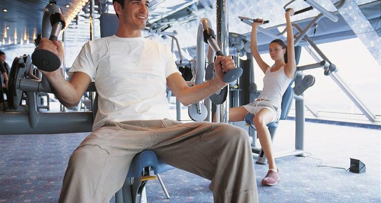 Costa Cruises, fitness centrum