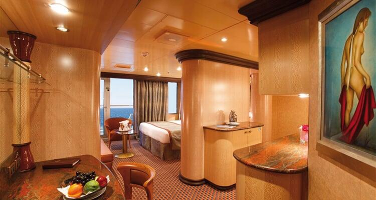 Costa Cruises, kajuta s balkonem