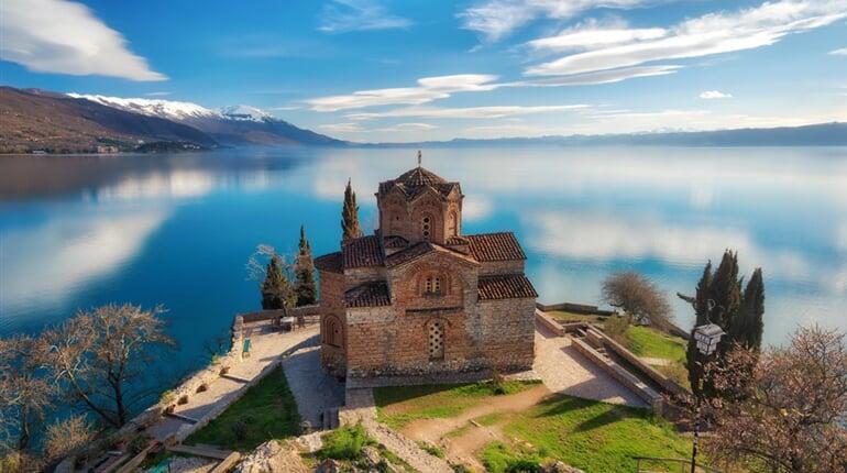 hlavní fotka - makedonie - balkán - ohrid - Church of St. John the Theologian