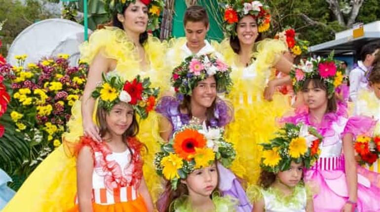 Foto - Květinové slavnosti na Madeiře