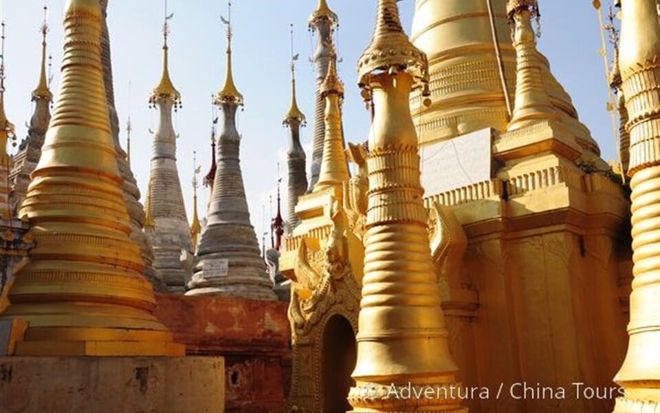 Les šanských pagod