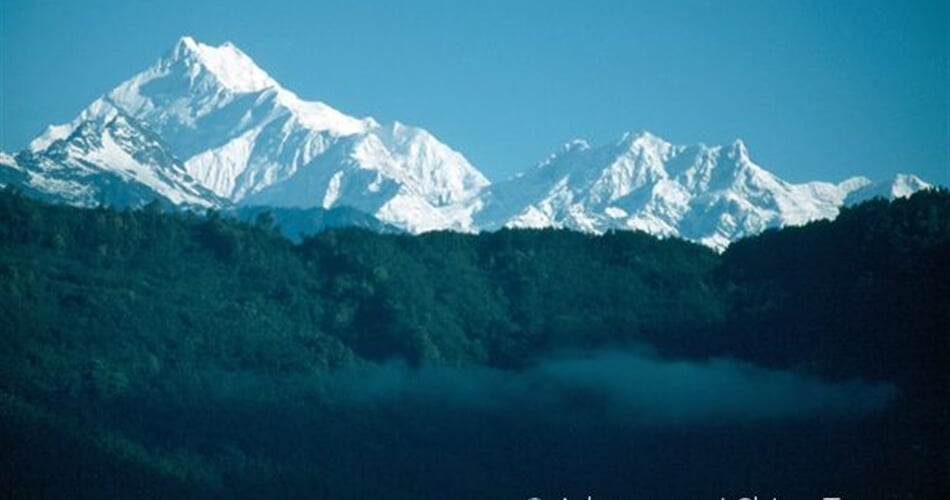 Sikkim – Kančendženga z Gangtóku