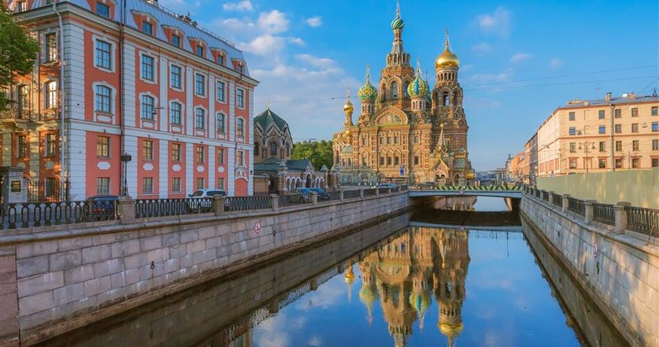 Poznávací zájezd Petrohrad