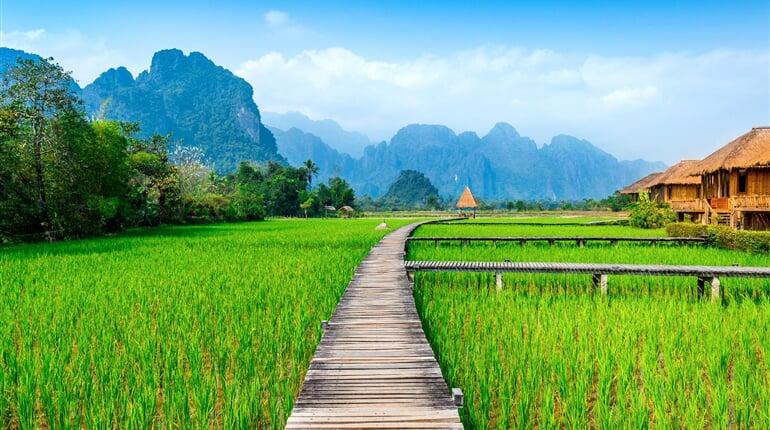 Foto - Laos - království slonů